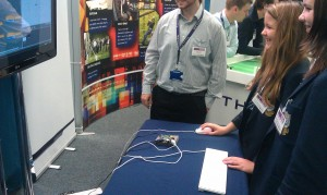The Pi proved to be very popular with pupils coming over and asking questions.