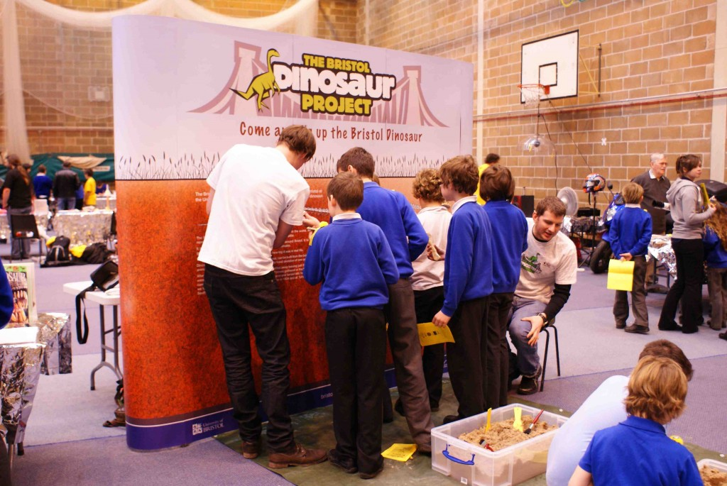 The Bristol Dinosaur Project helps to teach people about Bristol's very own dinosaur