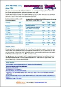 Materials report pic