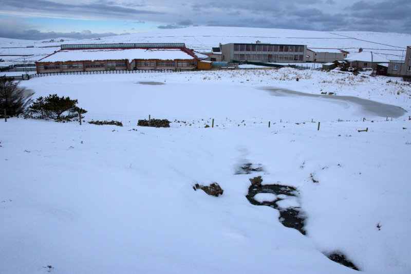Baltasound_Junior_High_School_in_the_snow_-_geograph.org.uk_-_1725784