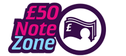 £50 Note Zone Logo