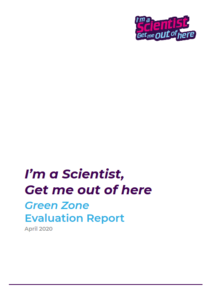 Green Zone Evaluation Report Cover
