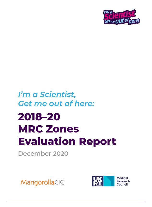 IASUK MRC Zones 2018-20 Evaluation Report (Cover Image)